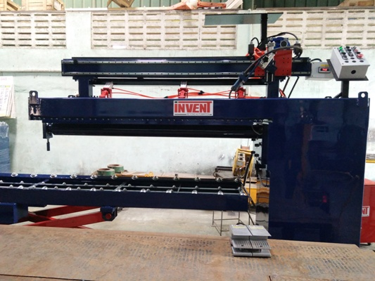 Long seam Welders